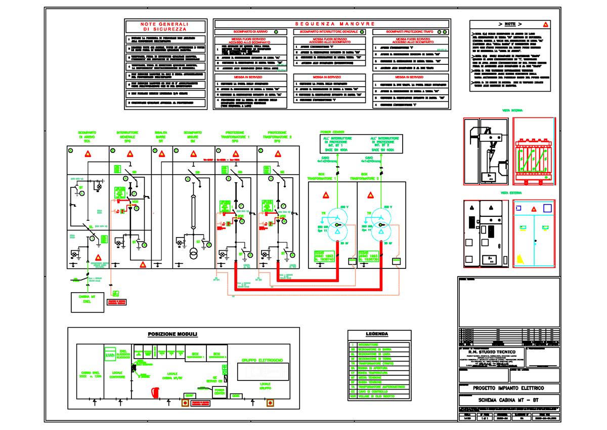 Schema Elettrico Cabina Di Media Tensione : Schema fotovoltaico mt fare di una mosca